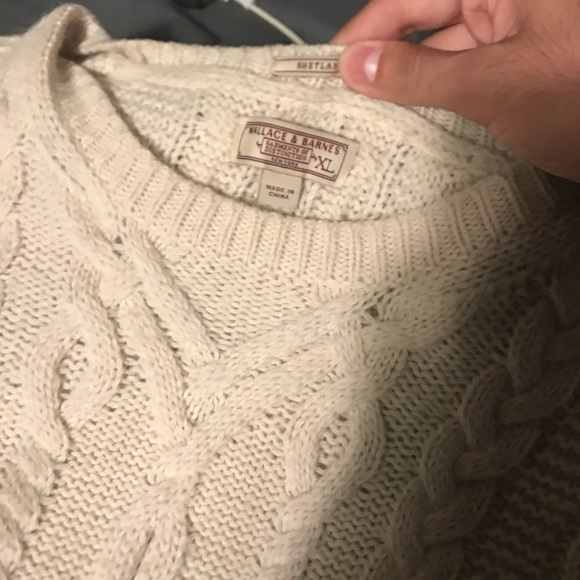 J. Crew Other - Wallace and Barnes (J Crew) Cable Knit Sweater